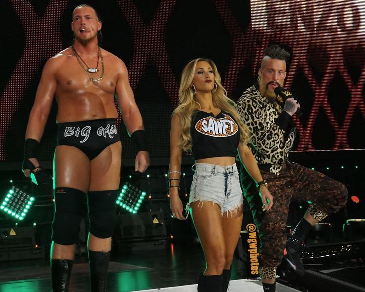 NXT: It's Enzo Amore, Colin Cassady And Carmella. My Name Is Enzo Amore, And I Am A Certified G, And A Bona Fide Stud. And You Can't Teach That Bada Boom #NXT #WWE #Indy