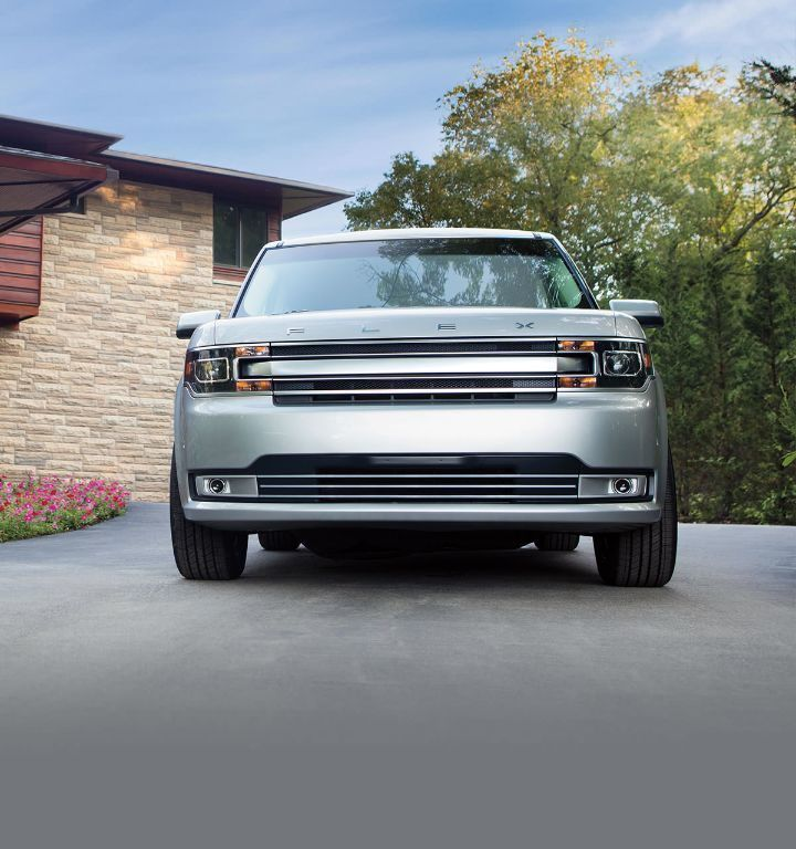 2019 Ford Flex Limited Parked In Driveway Of Home Ford Flex