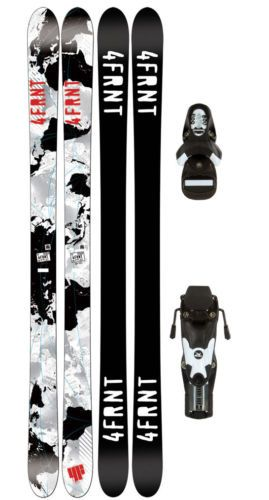 4Frnt TNK 135 Youth Skis + Rossignol Comp J 45 Ski Bindings