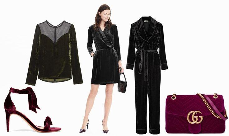 Velvet! Shoe, Aleexandre Birman // Top, Lanvin // Mini dress, Banana Republic // Form, Fendi // Bag, Gucci