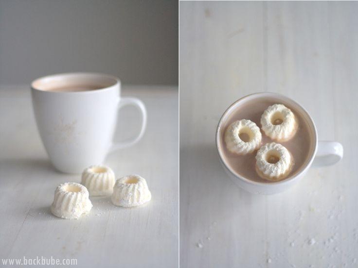 Marshmallow-Gugels in heißer Schokolade - selbst gemacht