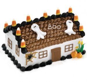 Elegant Idea for Halloween cake