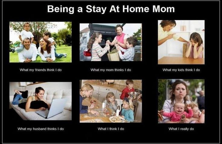 Stay At Home Mom Meme Funny