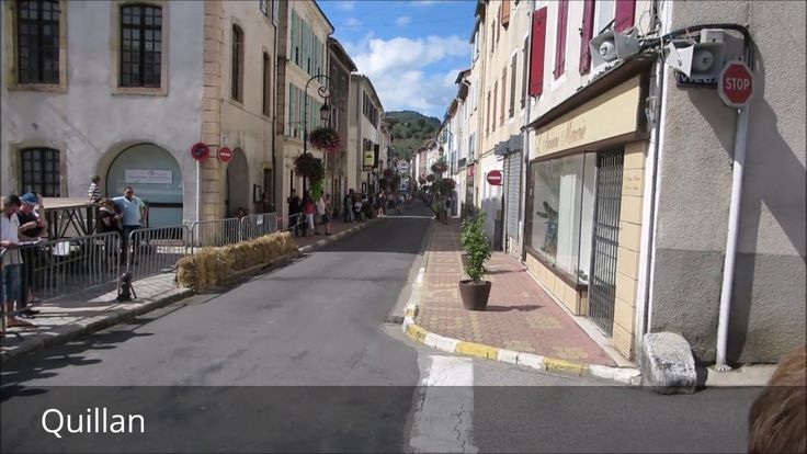 Places to see in ( Quillan - France )  Quillan is a commune in the Aude department in southern France. On 1 January 2016 the former commune of Brenac was merged into Quillan.  Quillan is located at the foothills of the Pyrenees on the road between Carcassonne and Perpignan. The River Aude runs through it. At the base of the mountains swathes of sunflowers and grapes saddle the roads and green fields meet white-capped peaks. The location is thought of as one of the most spectacular in France…