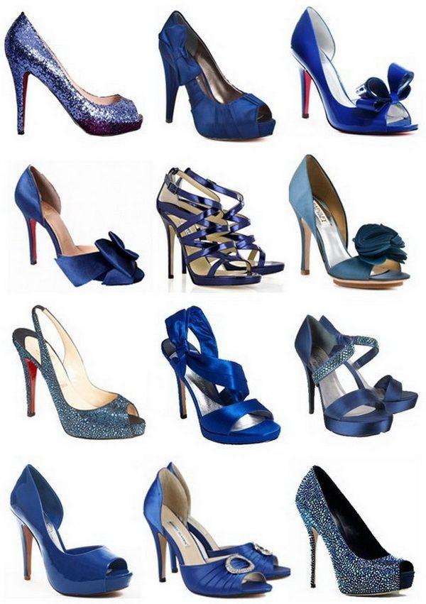 Синие туфли – хит сезона. С чем носить?