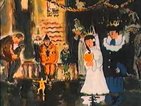 "Tamara Sorbian, animation inspired by Witold Wojtkiewicz paintings as visualisation Tomaso Albinioni's ""Adagio Cantabile"""