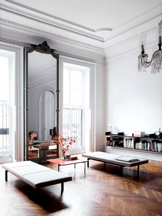 Tipps für elegante Gestaltung mit Spiegel im Schlafzimmer ...