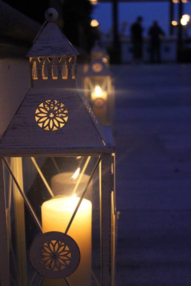 Fanous lanterns light up the way to Aqua Restaurant at Four Seasons Hotel Istanbul at the Bosphorus during #Ramadan