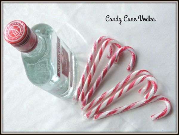 Candy Cane Vodka Recipe   Keeper of the Kitchen