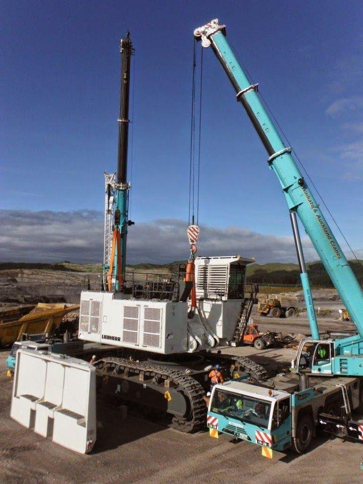 Mobile Gantry Crane Nz : Liebherr this excavator r will go to