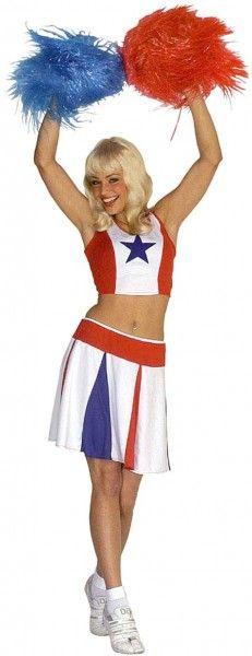 Le déguisement pom pom girl, la tenue idéale pour savourez les joies de la vie estudiantine made in USA !