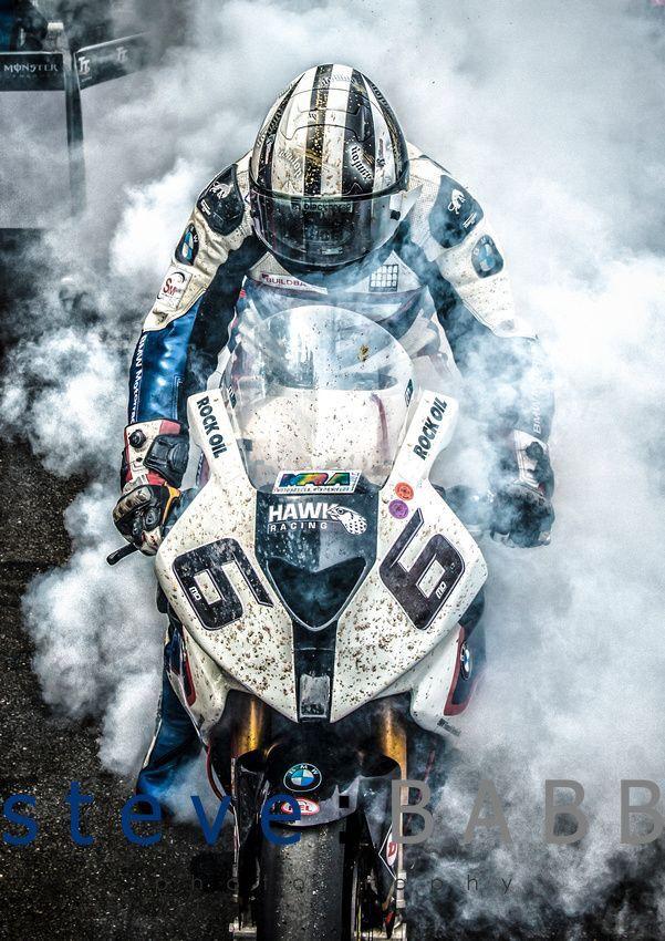 M Dunlop. Wins the TT