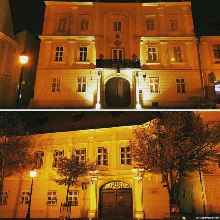 Guess what these 2 #baroque houses have in common & find out the answer in tomorrow's post. #quiz #Győr #MagicMagyar