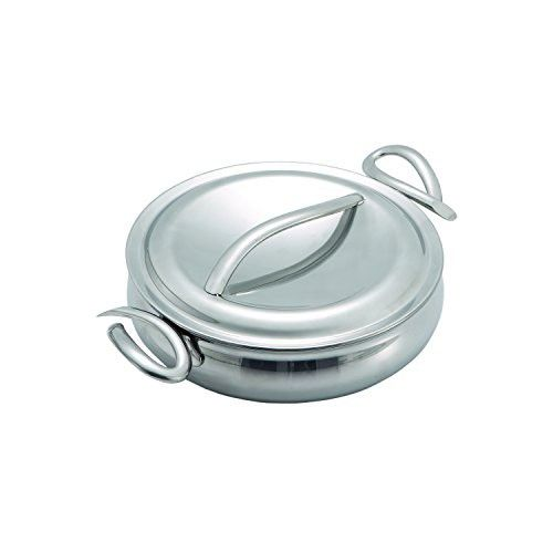 Nambe MT0559 CookServ Try Me 8-Inch Saute Pan with Lid