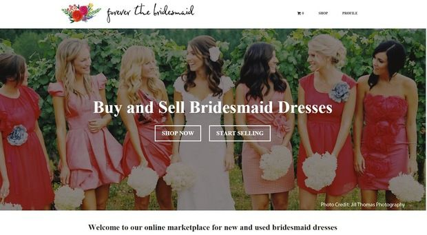 Finally! A Place to Sell Bridesmaid Dresses AND Buy Them for Cheap : Local upstart Forever the Bridesmaid is taking bridesmaid consignment shopping online.