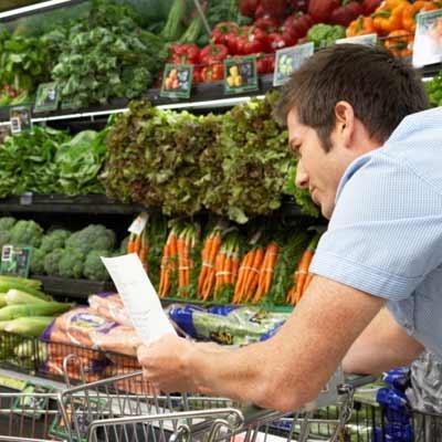 Suas compras de supermercado ajudam a dieta?