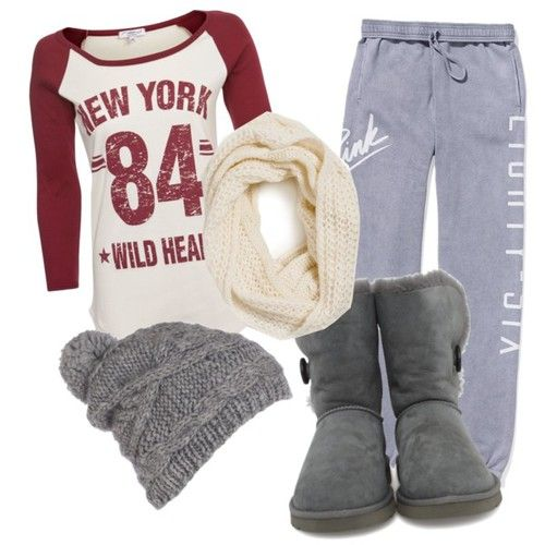 Lounging around the house outfit!  So comfy! Idk if I'd wear the scarf and booties around the house but they're still cute as hell nonetheless!