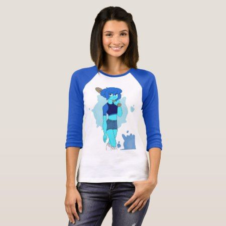 Lapis with a bat tee - click to get yours right now!