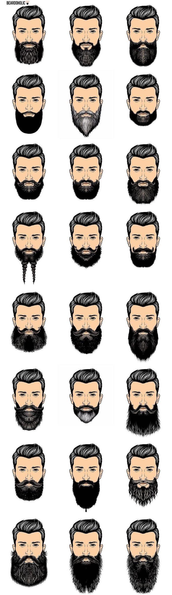 ▷ 1001 + Ideen für Hipster Bart und coole Looks von Männern