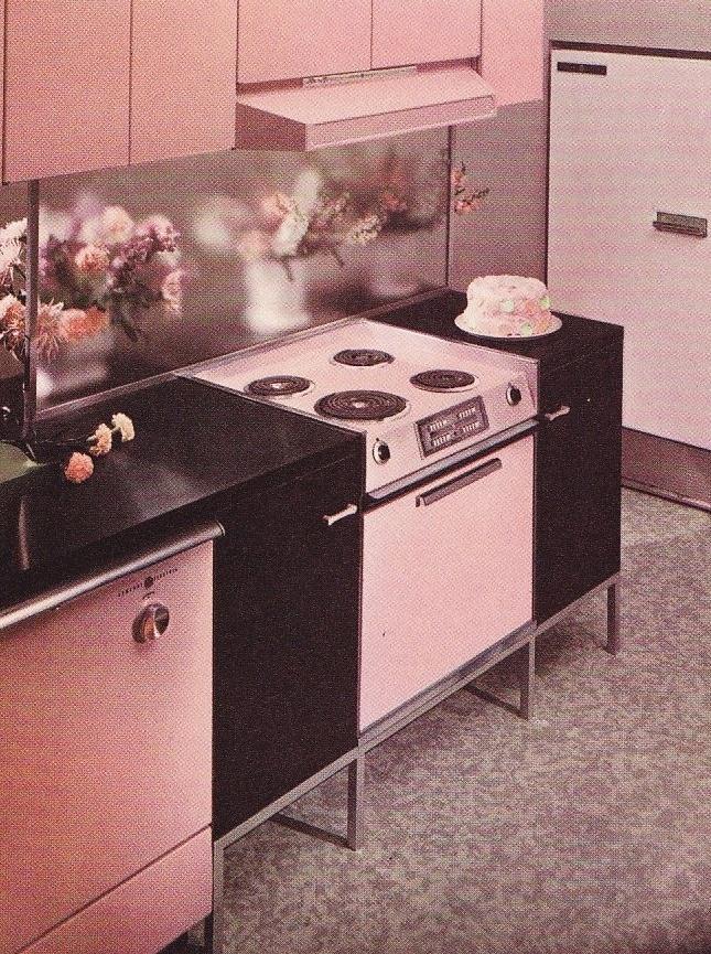 1963 General Electric Kitchen