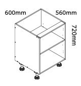 kaboodle flat pack kitchen 600mm base cabinet installation instructions