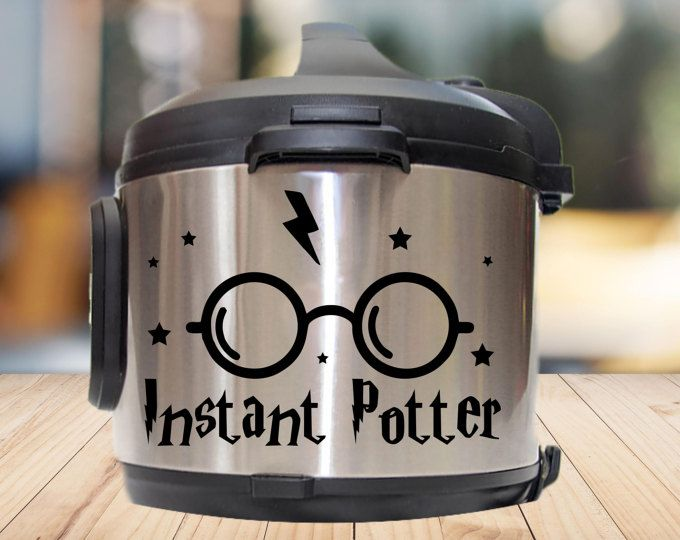 Instant pot Decal,instant potter decal kitchen appliance decal kitchen decal crock pot decal,pressure cooker decal,IP decal