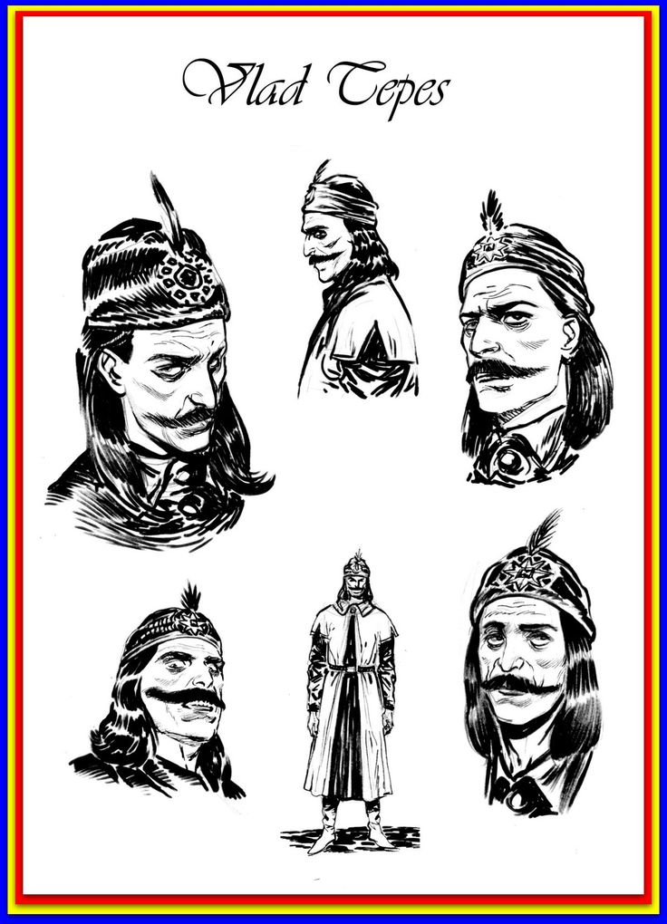 Vlad III Dracula sketches