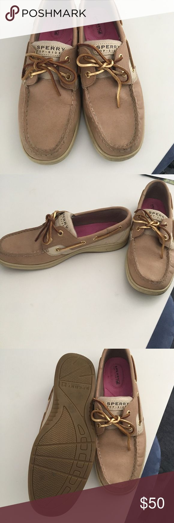Sperry Topsider Boat Shoe Women's Brand new gold accented sperry topsider boat shoes Sperry Shoes Flats & Loafers