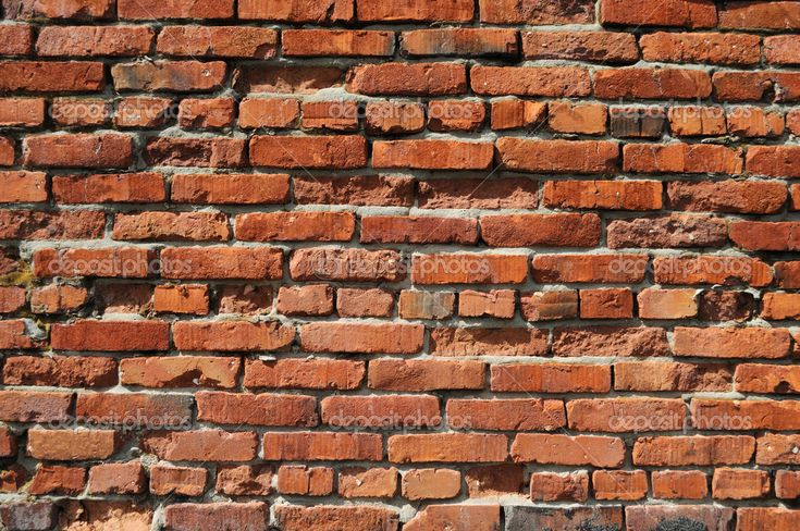 Eski tuğla duvar arka plan - Stok İmaj #6071168