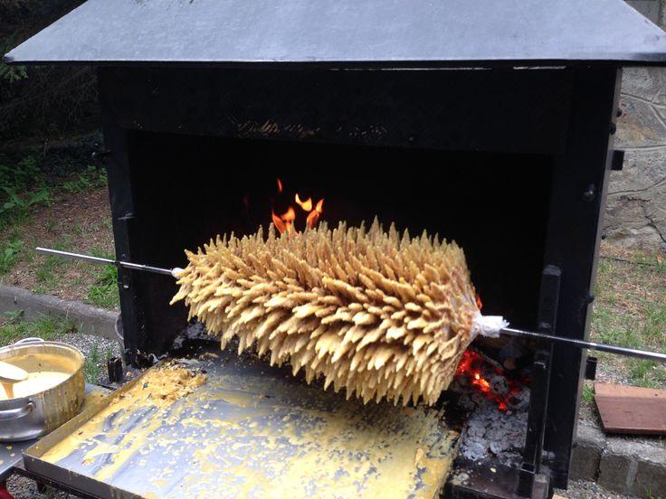 Video cuisson gateau a la broche