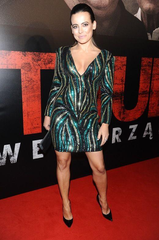 """Piękna Anna Mucha na premierze """"Pitbulla"""""""
