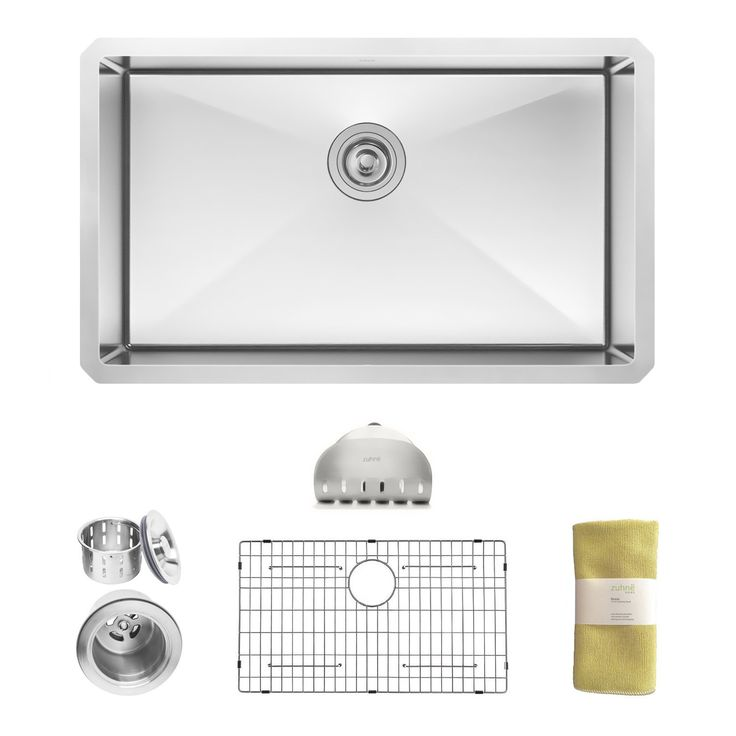 Best Gauge For Kitchen Sink 25 best 50 best undermount kitchen sink images on pinterest zuhne modena 30 inch undermount single bowl 16 gauge stainless steel kitchen sink amazon workwithnaturefo