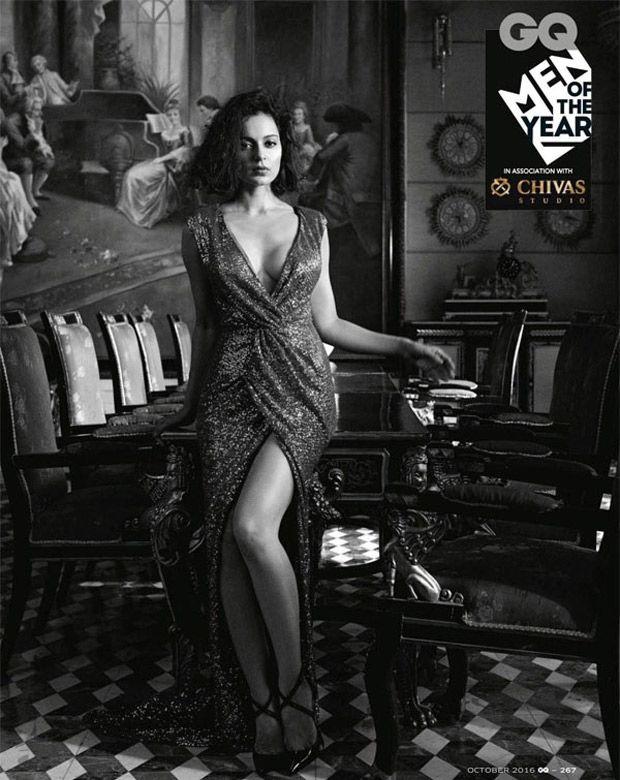 Kangana Ranaut photoshoot for GQ magazine. #Bollywood #Fashion #Style #Beauty #Hot #Sexy