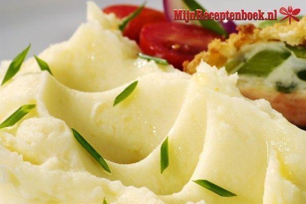 Aardappelpuree met knolselderij recept