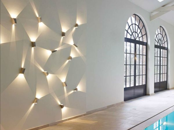 """Topix"" by Deltalight, elegant wall lamps, get creative with light in your home! #creativewithlight #designyourownlights"