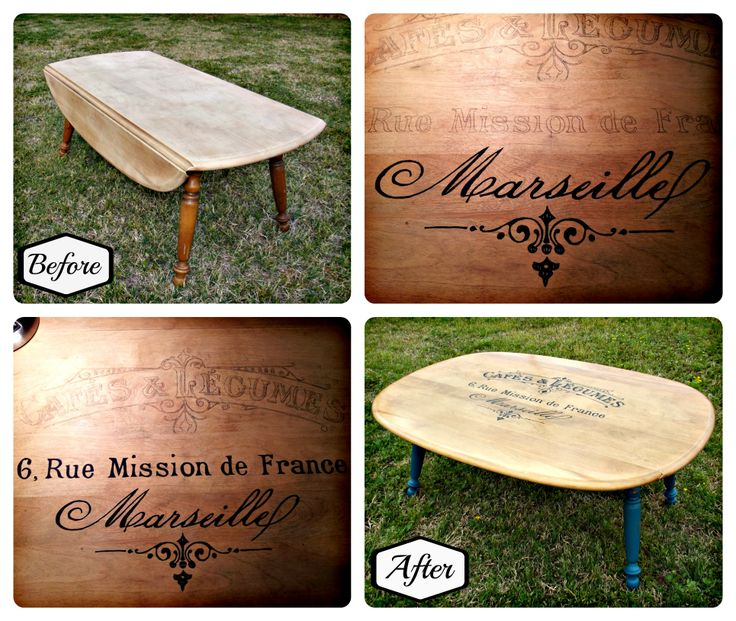 Annie Sloan S Aries: How To Make A Drop Leaf Coffee Table