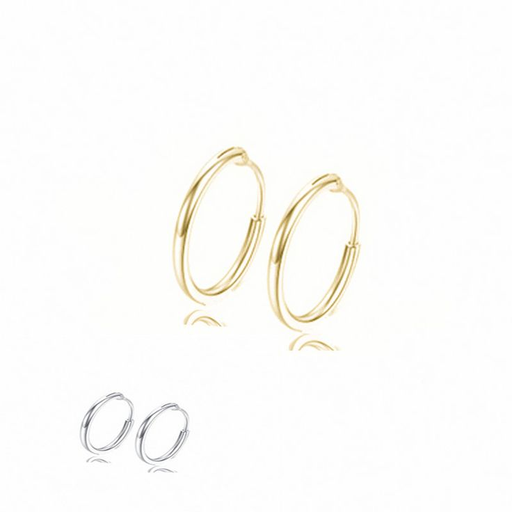 Simple Design Circle Earrings For Women Bohemian Bridal Party Jewelry Gold Silver Earrings Brincos e079