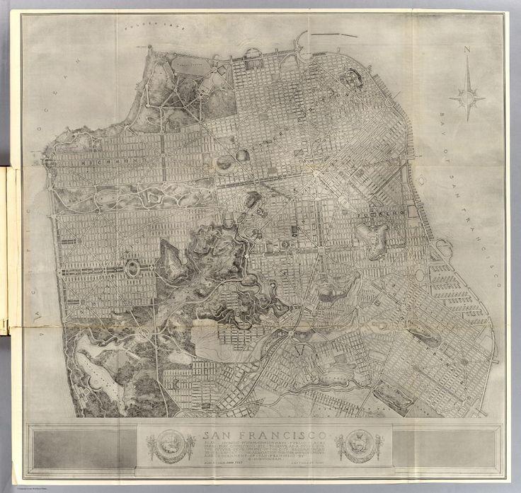 Old Maps of San Francisco Guaranteed to