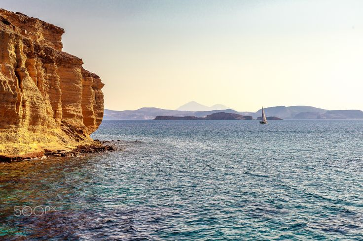 Travel Therapy - Totally isolated parts of Greek islands photography .