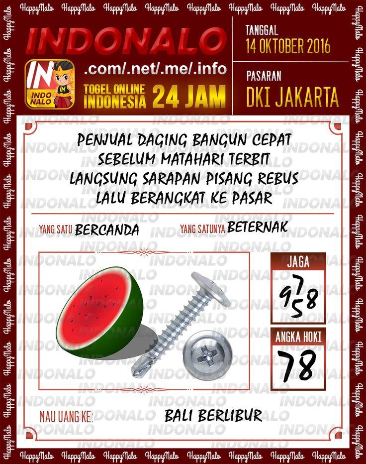 Agen SDSB Togel Wap Online Live Draw 4D Indonalo DKI Jakarta 7 Oktober 2016