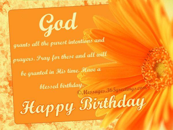 Christian Birthday Wishes Religious Birthday Wishes – Birthday Greetings Religious Message