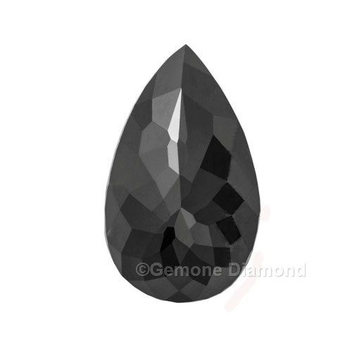 This is an AAA quality natural 3-carat pear shape loose black diamond that will make your Engagement & wedding ring, bands, bangles, earrings etc look marvelous at wholesale price.