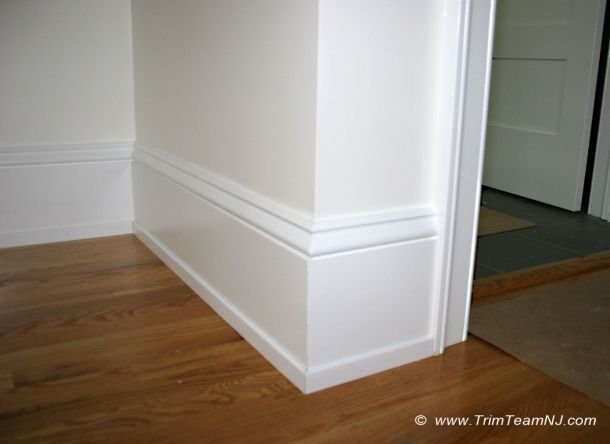 molding around doors | 043. Baseboard, shoe molding and casing around doors. Hillsborough ...