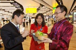 'Xin nian kuai le' from Heathrow - Chinese New Year