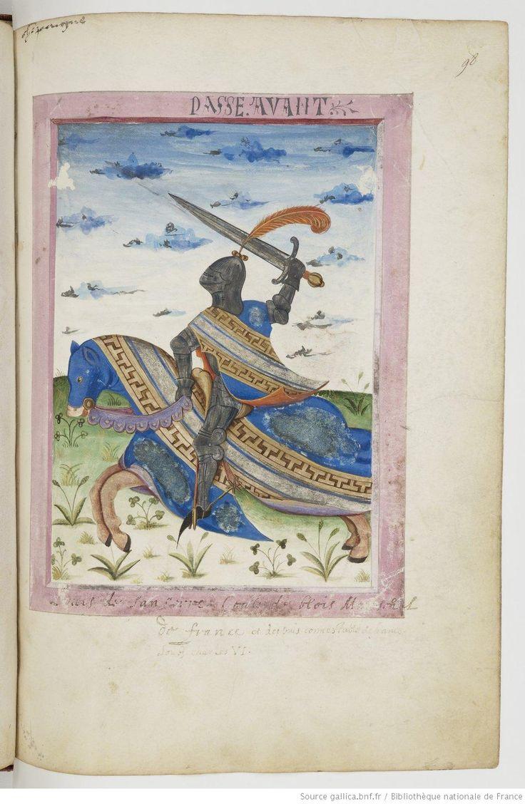 Armorial de GILLES LE BOUVIER, dit BERRY, héraut d'armes du roi Charles VII. Date d'édition : 1401-1500 Type : manuscrit Langue : Français