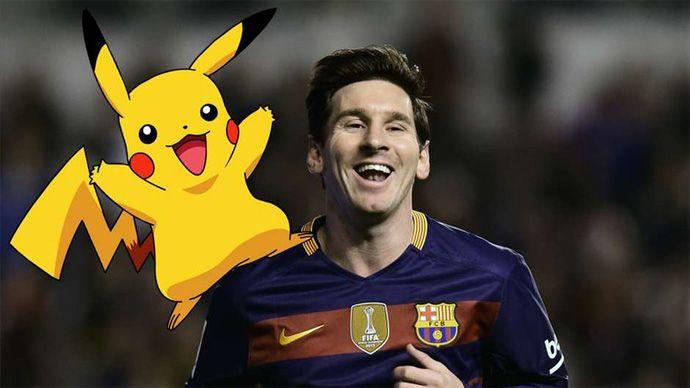 Cute Messi, cute Pikachu, Bongdalu loves you guys, kisssssssssss~~~