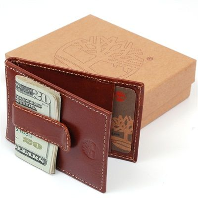$Leather Mens $Money $Clip Wallet Flip Thin #Timberland $Earthkeepers Super Efficient