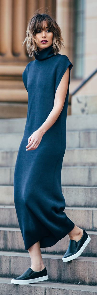 The Chronicles Of Her Maxi Blue Dress