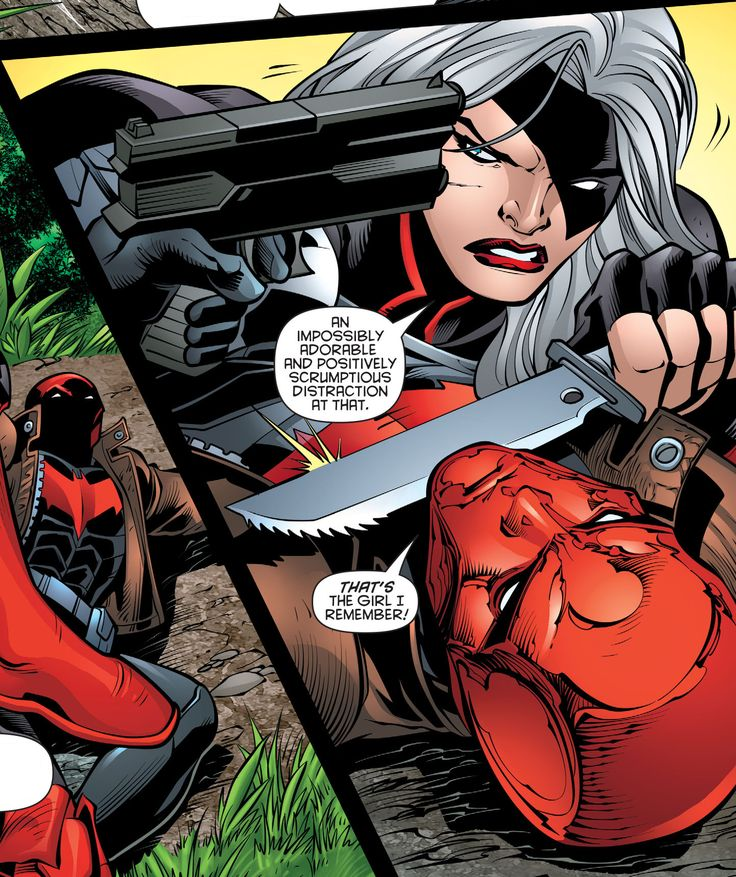 RHTO 39 Rose Wilson Jason Todd Red Hood Ravager Red Hood and the Outlaws adorable DC Comics Super Villains Anti-heroes
