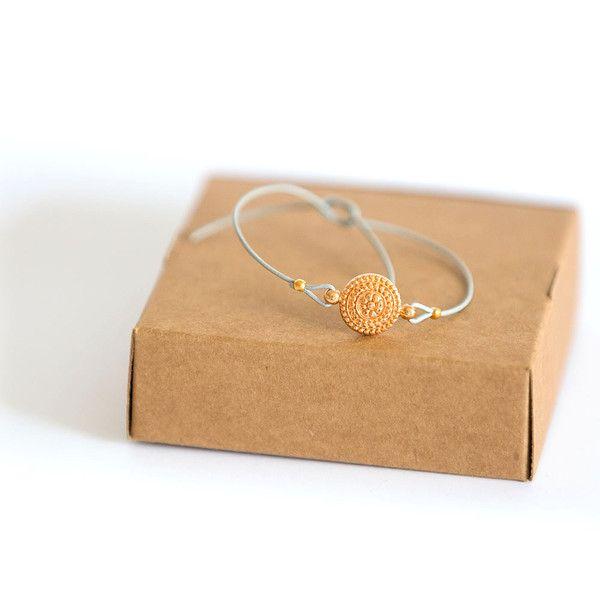 Armbänder - Glücksarmband *MAKE a WISH* mit einem Ornament - ein Designerstück von miofinie bei DaWanda